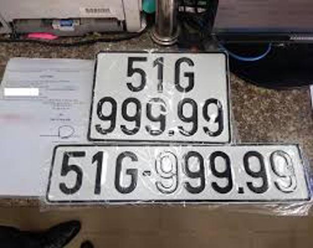 Biển số xe 4 bánh TP.HCM