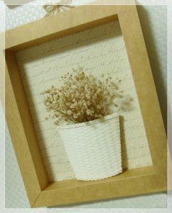 Cách tái chế thùng giấy thành khung ảnh