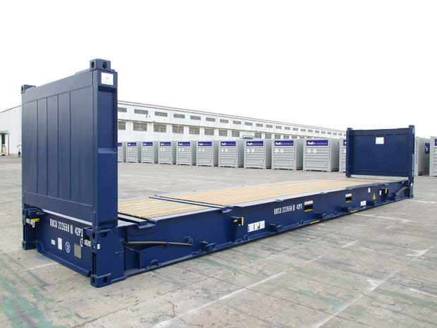 Container mặt bằng