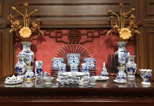 Số lượng bát hương cần có trên bàn thờ tổ tiên