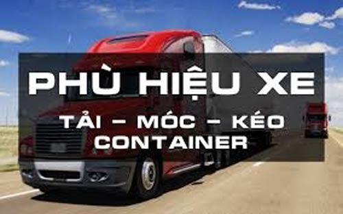Thủ tục cấp phù hiệu xe Container