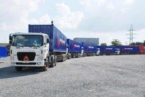 Tính chi phí vận chuyển hàng hóa bằng đường bộ