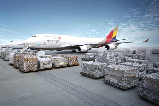 Tính chi phí vận chuyển hàng hóa bằng đường hàng không