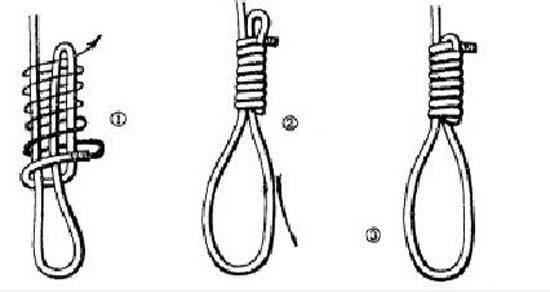 Cách buộc dây kiểu nút thòng lọng