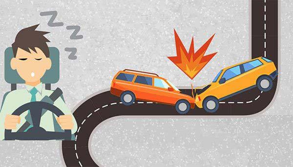 Hậu quả của việc buồn ngủ khi lái xe tham gia giao thông