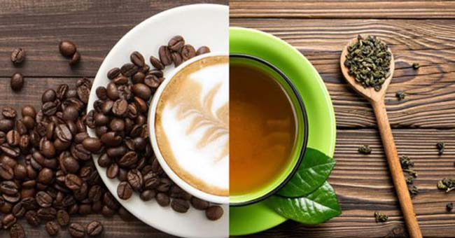 Uống trà và Cafe
