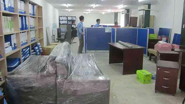 Đóng gói vận chuyển tài sản văn phòng