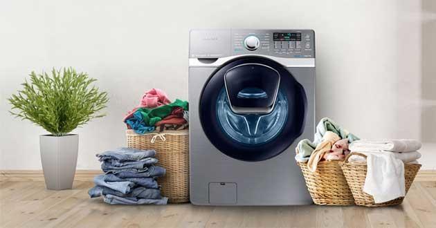Cách tháo máy giặt samsung