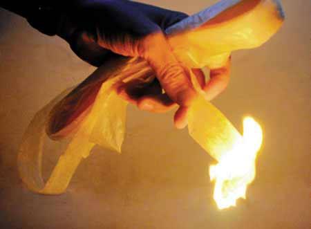Cách đốt phong lông bằng giấy