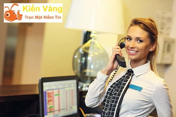 Tiếp nhận yêu cầu từ quý khách gọi về Hotline