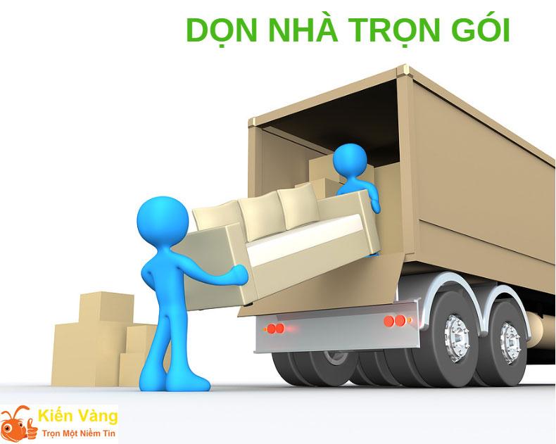 Nếu không có nhiều thời gian, bạn nên cần đến dịch vụ chuyển nhà trọn gói